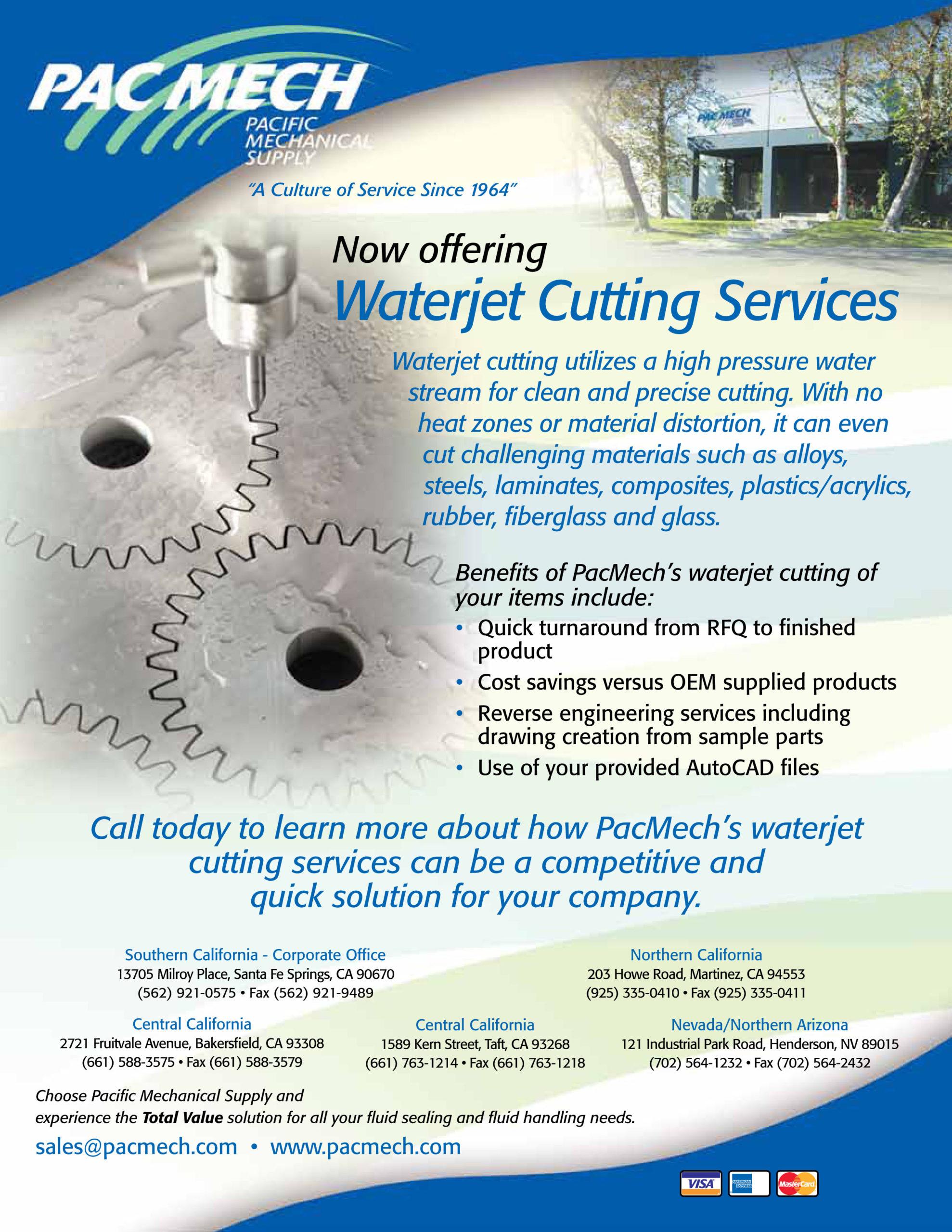 waterjet flyer